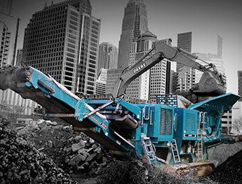 Crushing Equipment - Powerscreen Australasia, Lincom