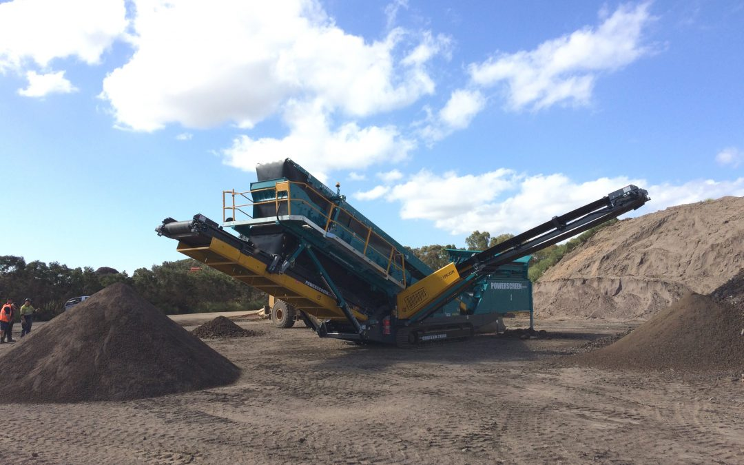 Daisy's Garden Supplies Upgrades their Powerscreen Chieftain