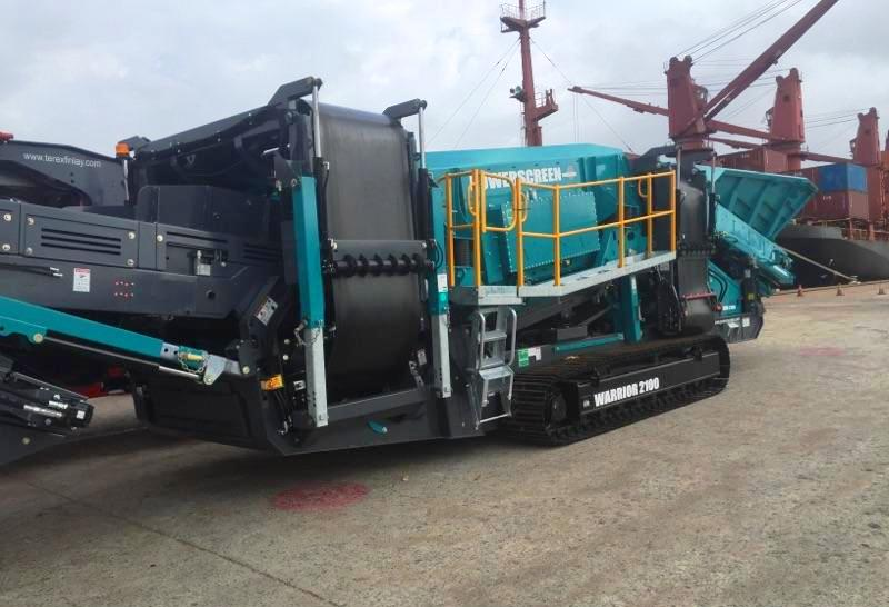 The First Powerscreen Warrior 2100 hits Australia!