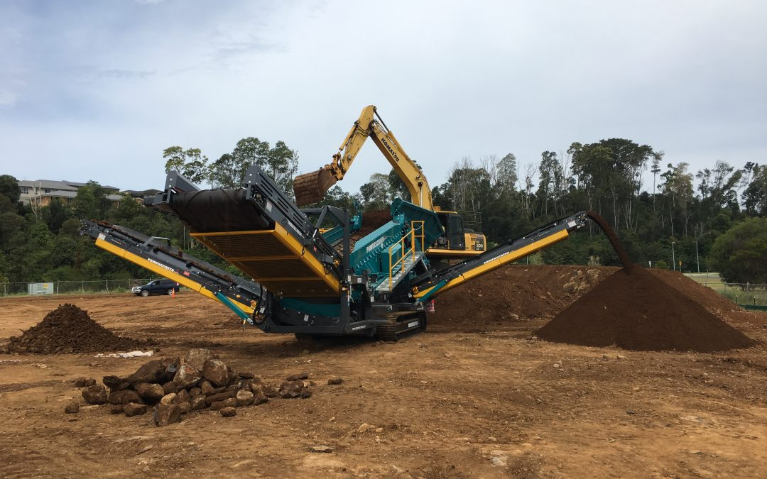 Another Powerscreen Warrior Screen delivered in New South Wales