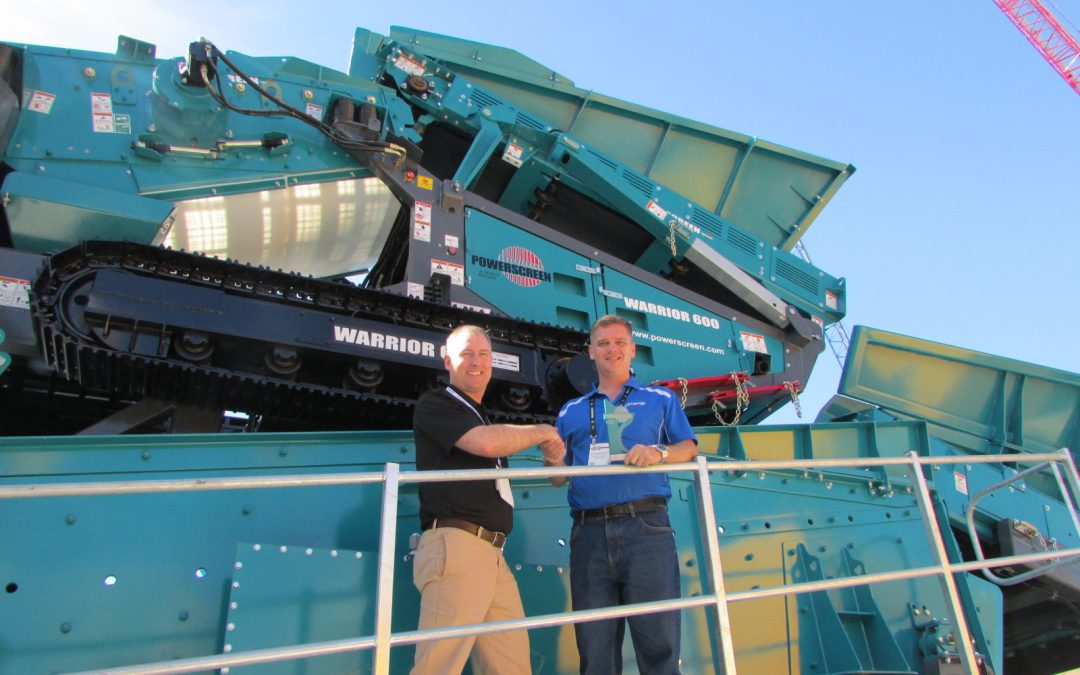 Lincom Group wins Powerscreen Regional Dealer of the Year Award