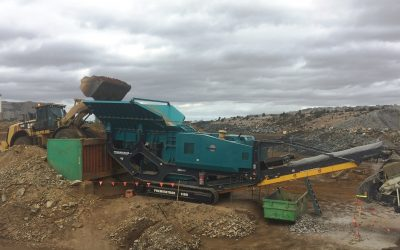 Crushing Service Solutions receives the very last Powerscreen Premiertrak 1180