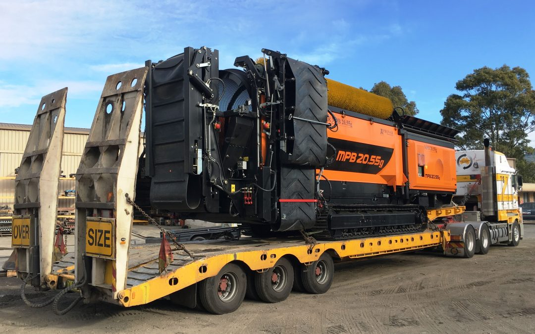 The first PRONAR Mobile Trommel Screen arrives in Australia