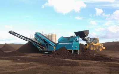 Powerscreen Chieftain 1700 to JBS Australia