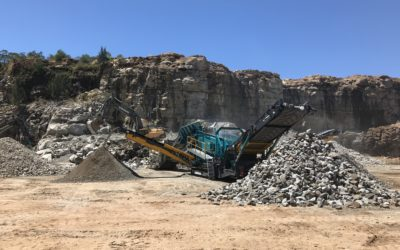 New Powerscreen Warrior 2400 to Lewis Quarries