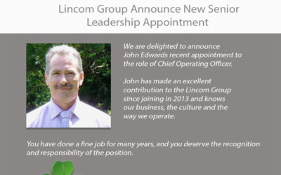 Lincom Group Announce New Senior Leadership Appointment