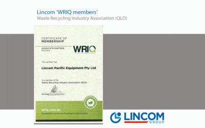 Lincom – WRIQ members 'Waste Recycling Industry Association (QLD)'