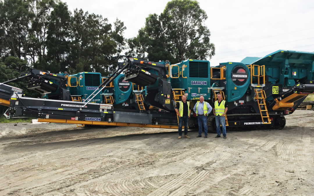 Lincom Group delivers 10th mine spec machine to Daracon Group
