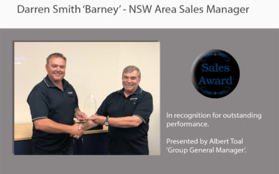 Lincom Group's Top Salesman of the Year 2018!