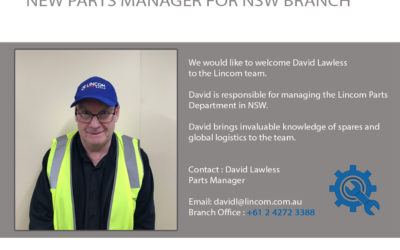 New Parts manager for NSW branch