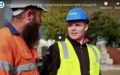 Leading Equipment Supplier 'Lincom Group' Delivers NEW Compact Mobile Impact Recirculating Crusher to Customer in Auckland