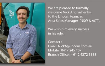 NEW SALES APPOINTMENT AT LINCOM GROUP