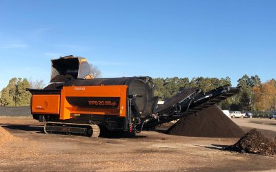 New Zealand's first PRONAR Mobile Trommel Screen has been delivered to Intelligro