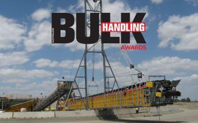 We're finalists in the Bulk Handling Awards 2021
