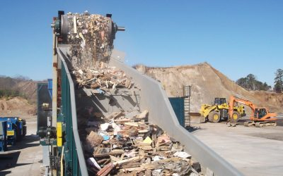 Delivering waste action